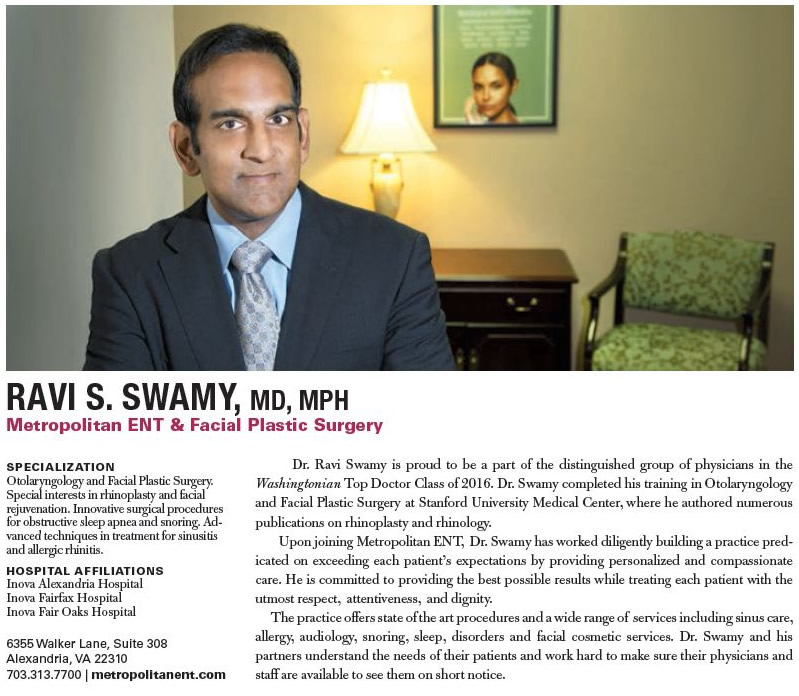 Swamy Washingtonian